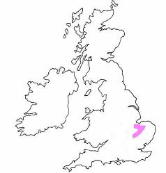 distribution of the Zander in the UK